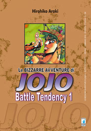 LE BIZZARRE AVVENTURE DI JOJO  N.   4 - BATTLE TENDENCY N.   1