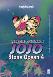 LE BIZZARRE AVVENTURE DI JOJO  N.  43 - STONE OCEAN 4