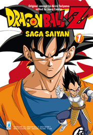 DRAGON BALL Z SAGA SAIYAN N.   1