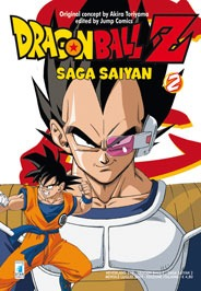 DRAGON BALL Z SAGA SAIYAN N.   2