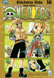 ONE PIECE NEW EDITION N.  18