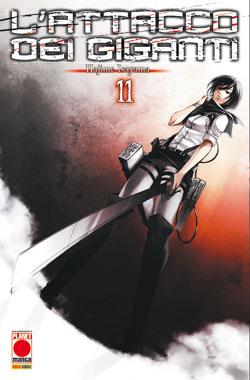 L'ATTACCO DEI GIGANTI  N.  11 COVER B