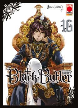 BLACK BUTLER N.  16 - IL MAGGIORDOMO DIABOLICO (kuroshitsuji)