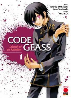 CODE GEASS  N.    1: LELOUCH OF THE REBELLION N.   1