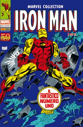 MARVEL COLLECTION N. 17 – IRON MAN N. 1 (DI 4) – MangaMania