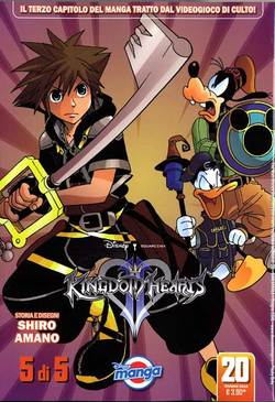 KINGDOM HEARTS II N.   5 (di 5)