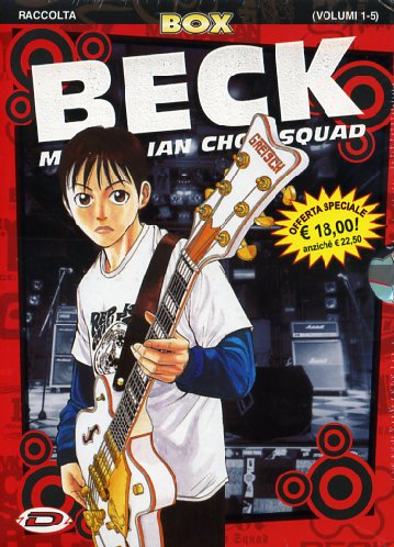 BECK MONGOLIAN CHOP SQUAD BOX N.   1 (vol. 1-5)