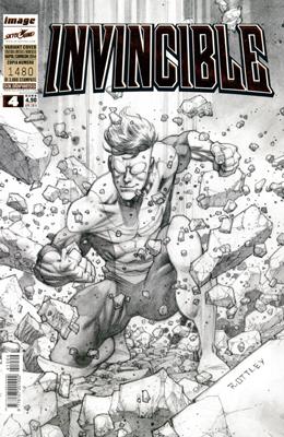 INVINCIBLE  N.   4 - VARIANT COVER NAPOLI COMICON 2014