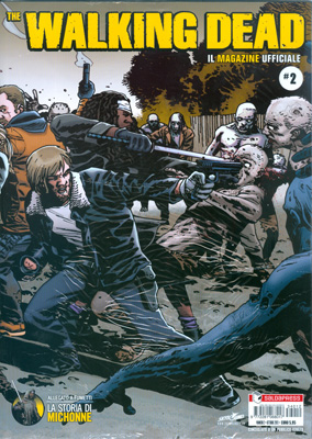 THE WALKING DEAD MAGAZINE - IL MAGAZINE UFFICIALE N.   2