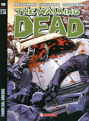 THE WALKING DEAD  N.  15 ECONOMICO -  FUORI DAL GREGGE