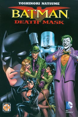 BATMAN DEATH MASK N.   1