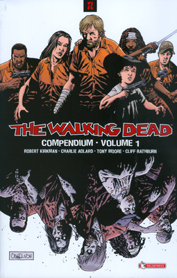 THE WALKING DEAD COMPENDIUM N.   1 RISTAMPA