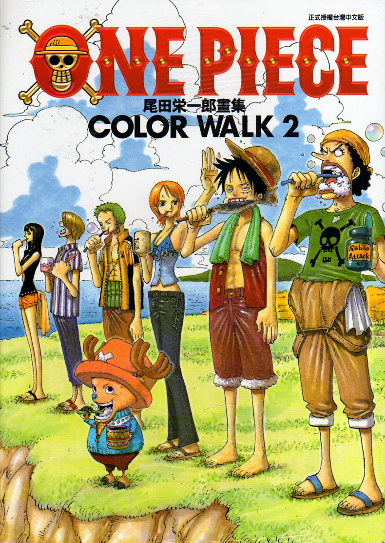 ONE PIECE COLOR WALK N.   2