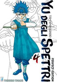 YU DEGLI SPETTRI  PERFECT EDITION N.   4
