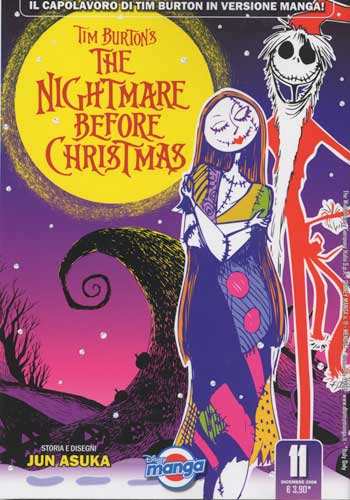 NIGHTMARE BEFORE CHRISTMAS - volume unico -