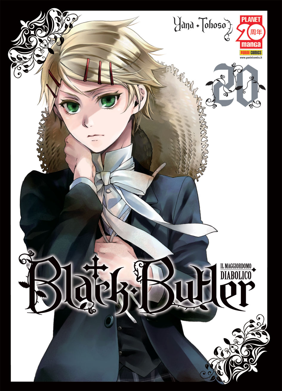 BLACK BUTLER N.  20 - IL MAGGIORDOMO DIABOLICO (kuroshitsuji)