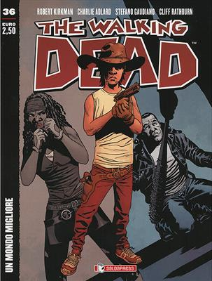 THE WALKING DEAD  N.  36 COVER B