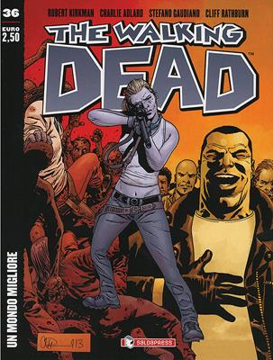 THE WALKING DEAD  N.  36 COVER A