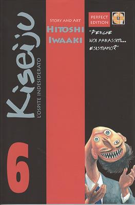 KISEIJU L'OSPITE INDESIDERATO N.   6 DELUXE COLLECTION