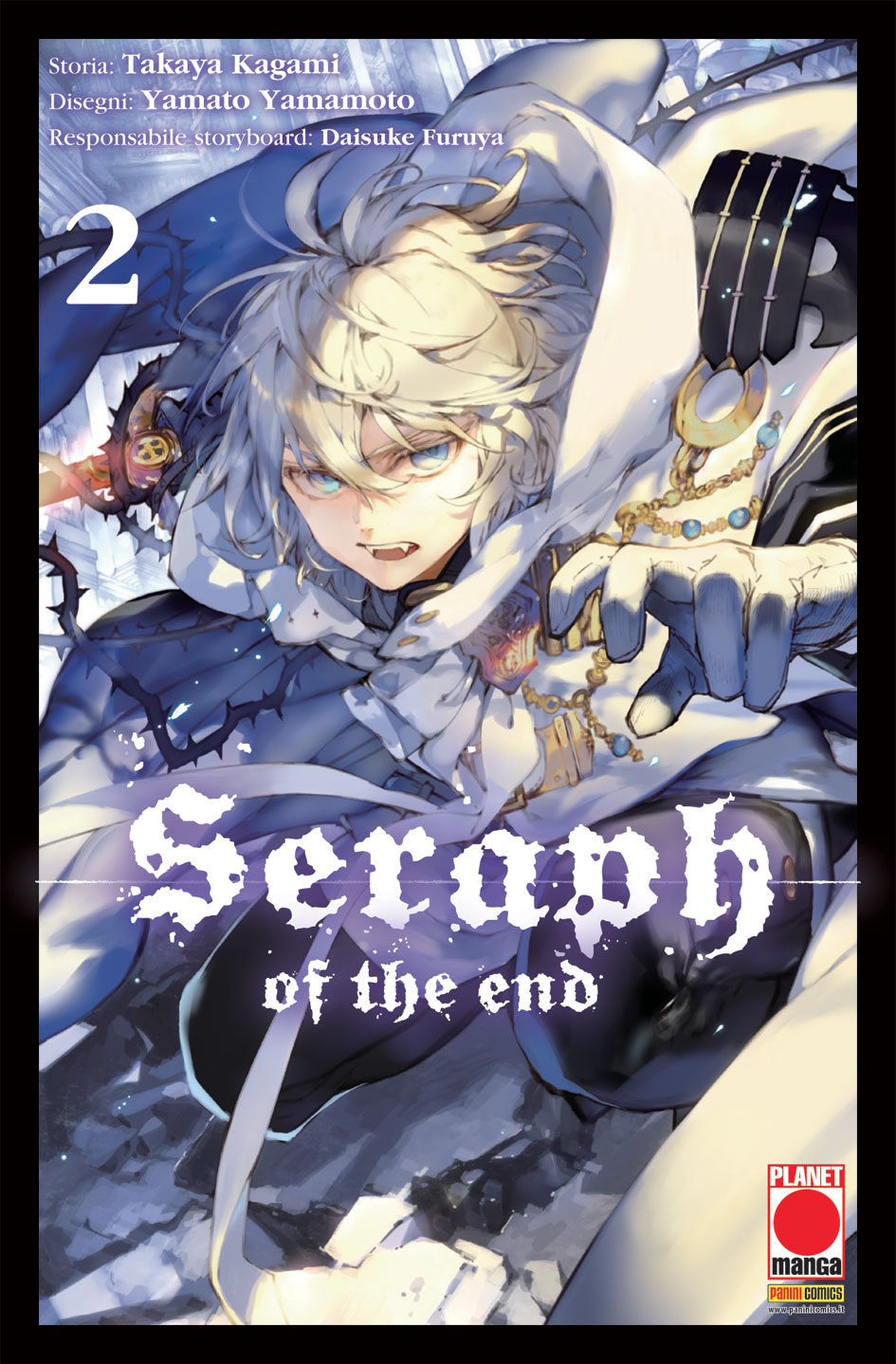 SERAPH OF THE END N.   2 - RISTAMPA
