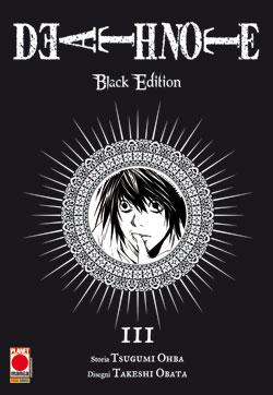 DEATH NOTE BLACK EDITION N.   3 - II  RISTAMPA