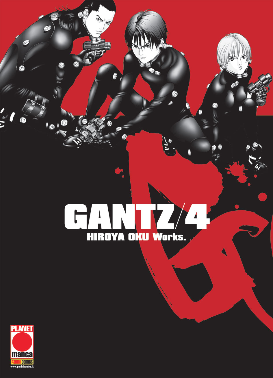 GANTZ  N.   4 - NUOVA EDIZIONE