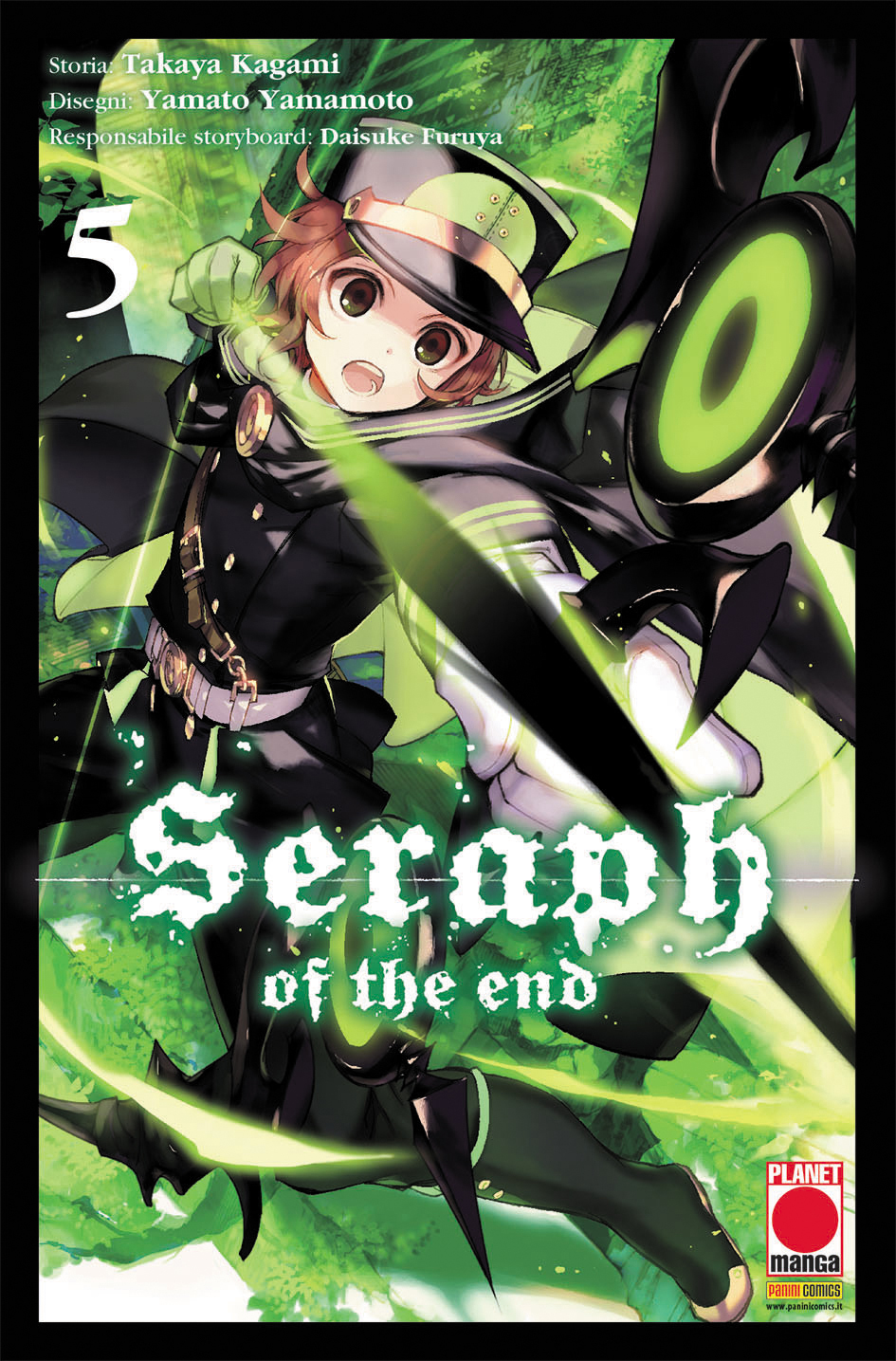 SERAPH OF THE END N.   5 - RISTAMPA
