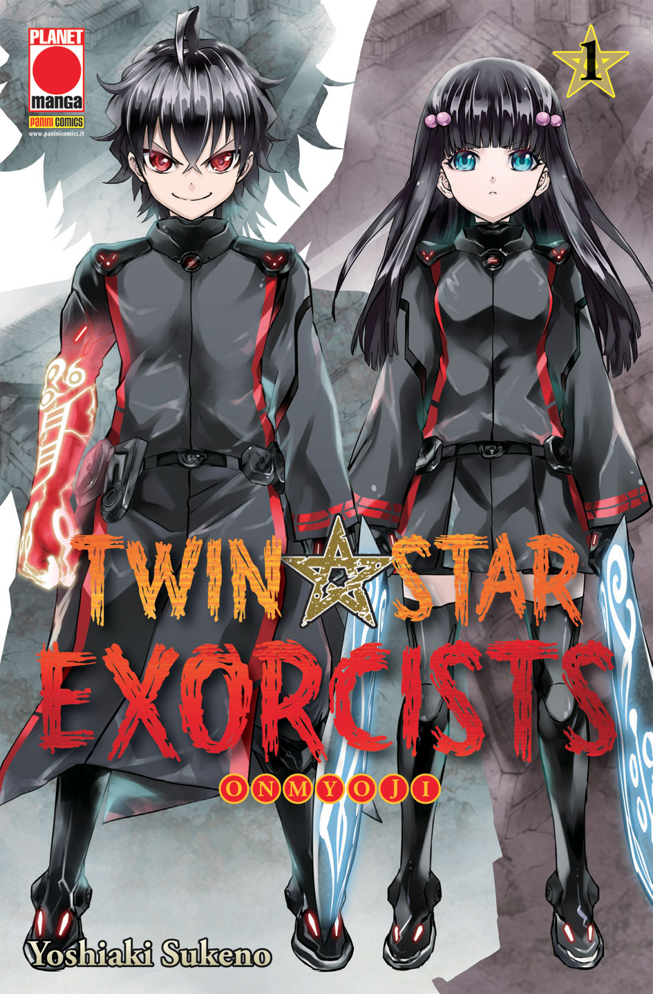 TWIN STAR EXORCISTS N.   1 - RISTAMPA