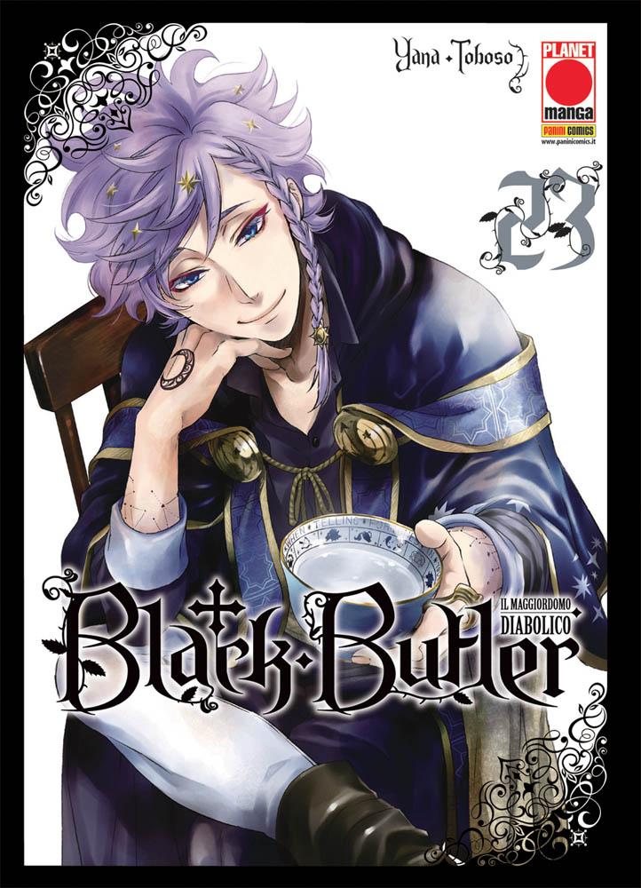BLACK BUTLER N.  23 - IL MAGGIORDOMO DIABOLICO (kuroshitsuji)