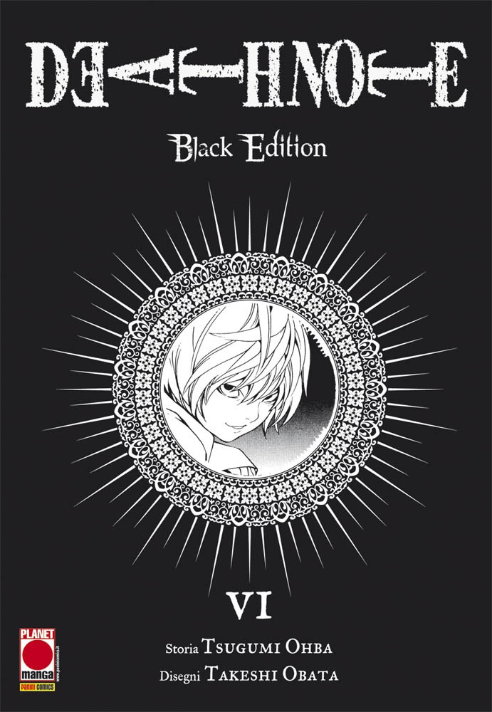 DEATH NOTE BLACK EDITION N.   6 - SECONDA RISTAMPA