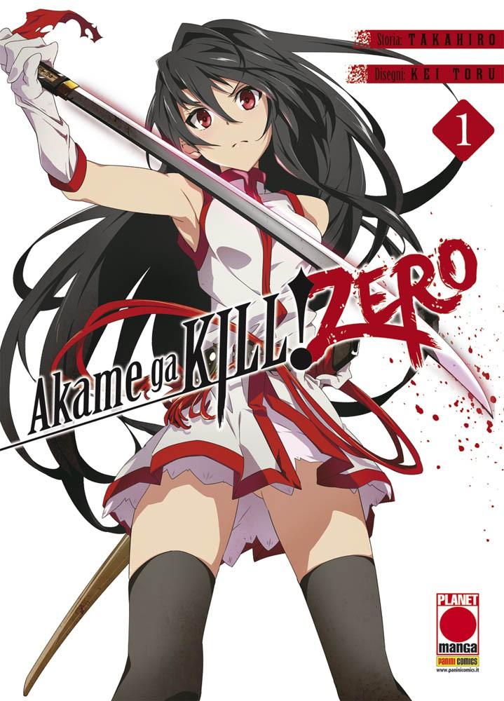 AKAME GA KILL! ZERO N.   1