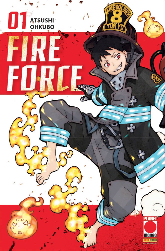 FIRE FORCE N.   1