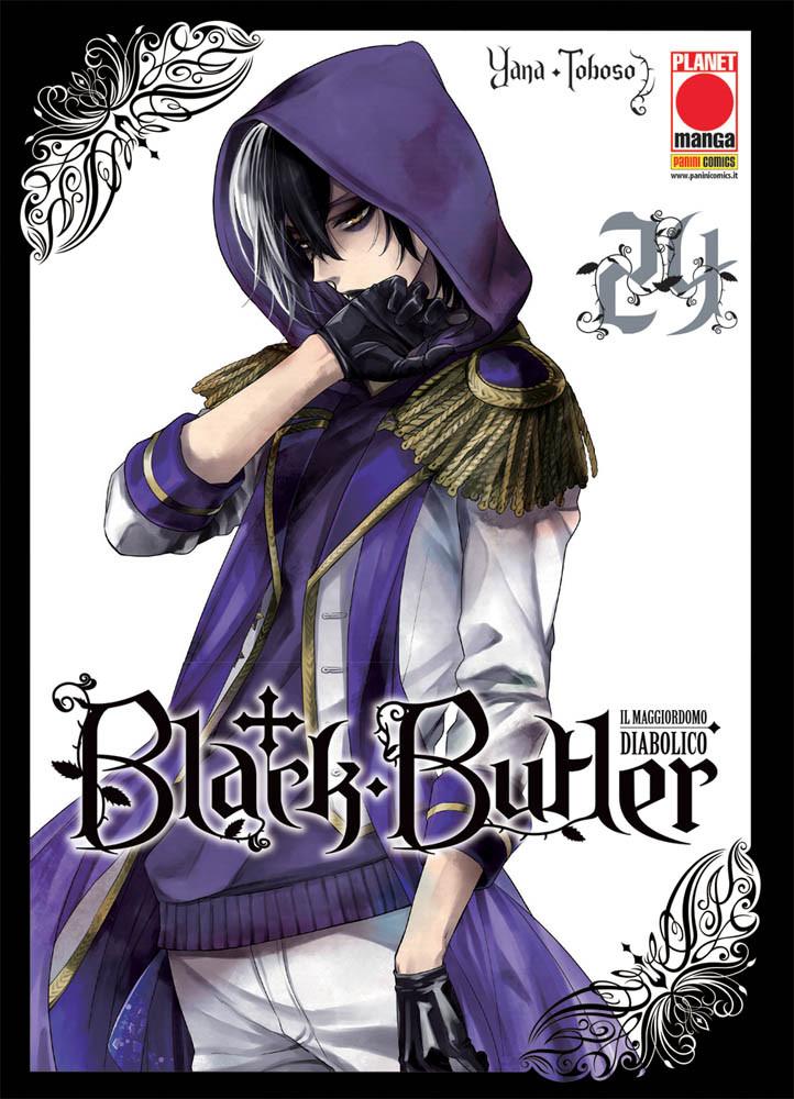 BLACK BUTLER N.  24 - IL MAGGIORDOMO DIABOLICO (kuroshitsuji)