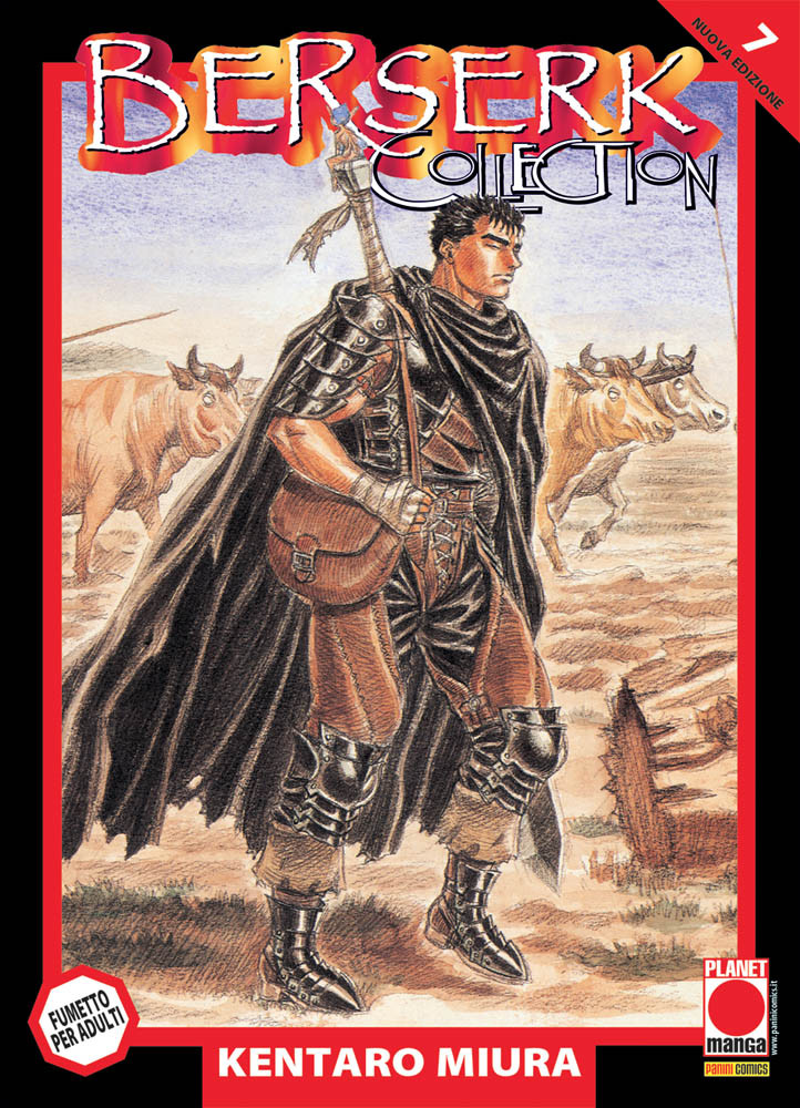 BERSERK COLLECTION SERIE NERA  N.   7 - TERZA RISTAMPA
