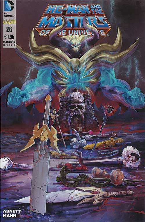 HE-MAN AND THE MASTERS OF THE UNIVERSE N.  26