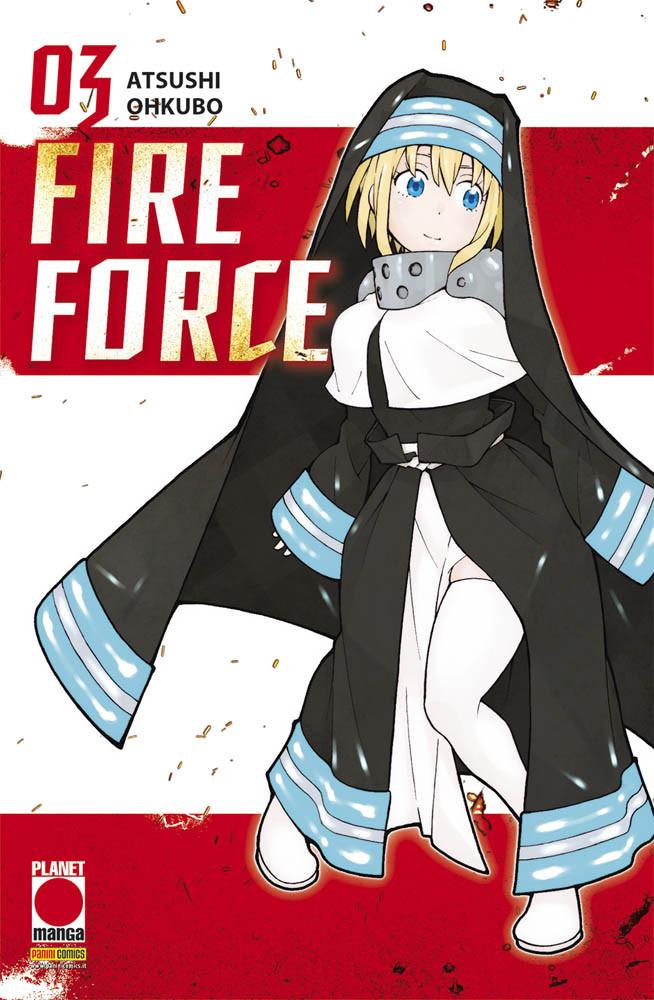 FIRE FORCE N.   3