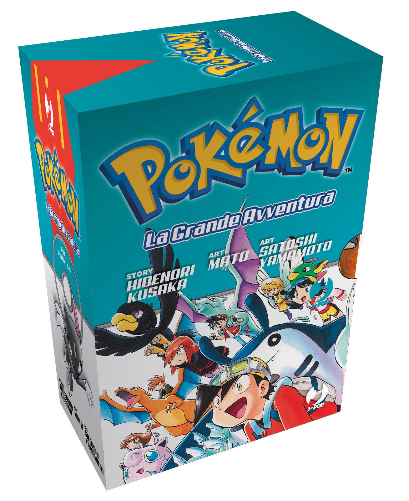 POKEMON LA GRANDE AVVENTURA N.   4-5-6 IN BOX