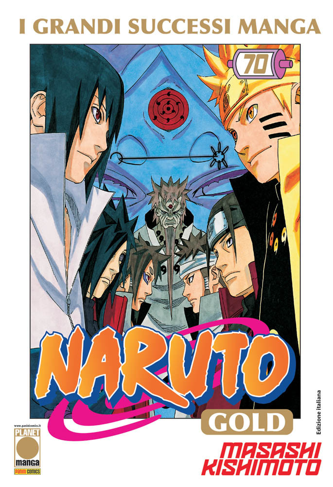 NARUTO GOLD DELUXE N.  70