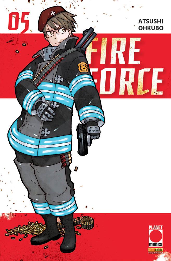 FIRE FORCE N.   5