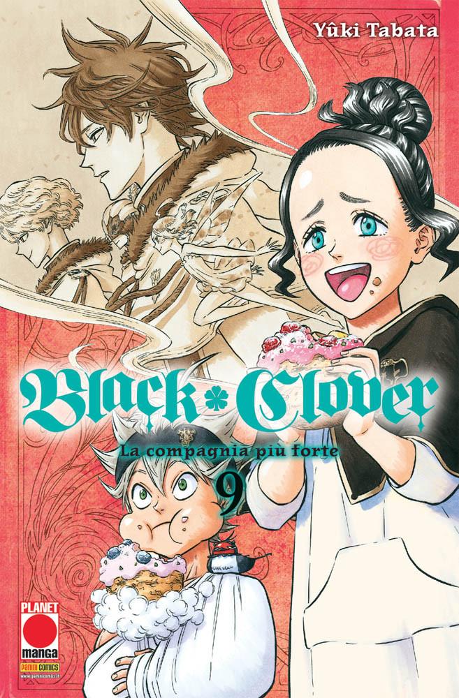 BLACK CLOVER N.   9