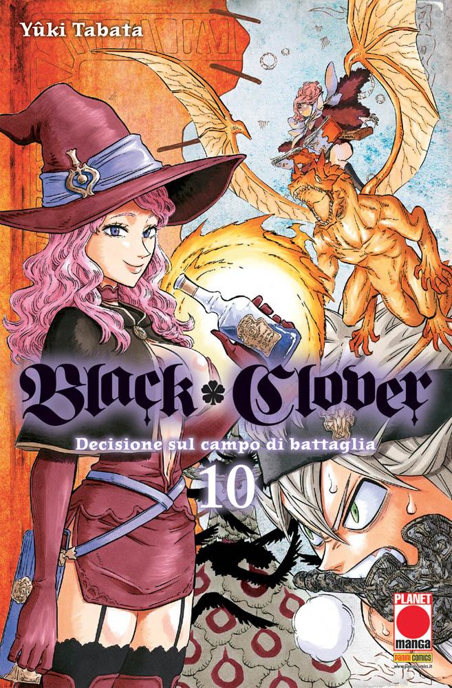 BLACK CLOVER N.  10