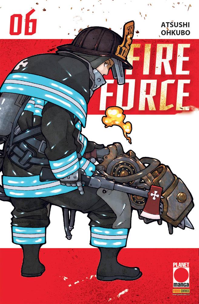 FIRE FORCE N.   6