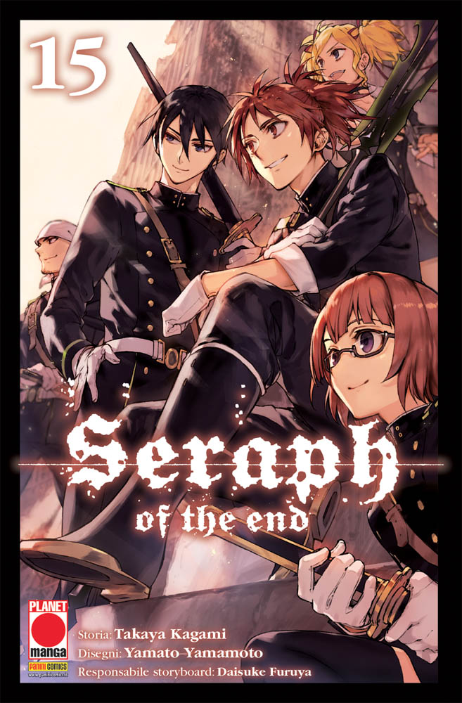 SERAPH OF THE END N.  15
