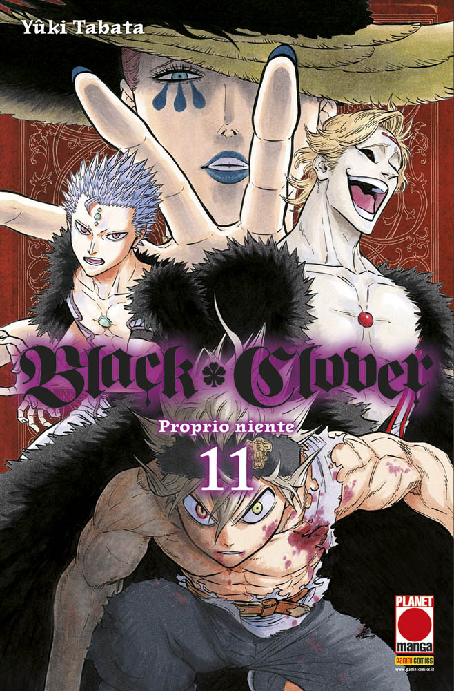 BLACK CLOVER N.  11