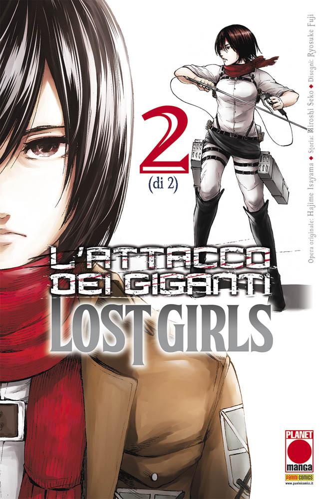 L'ATTACCO DEI GIGANTI -  LOST GIRLS N.   2 (DI 2) - RISTAMPA