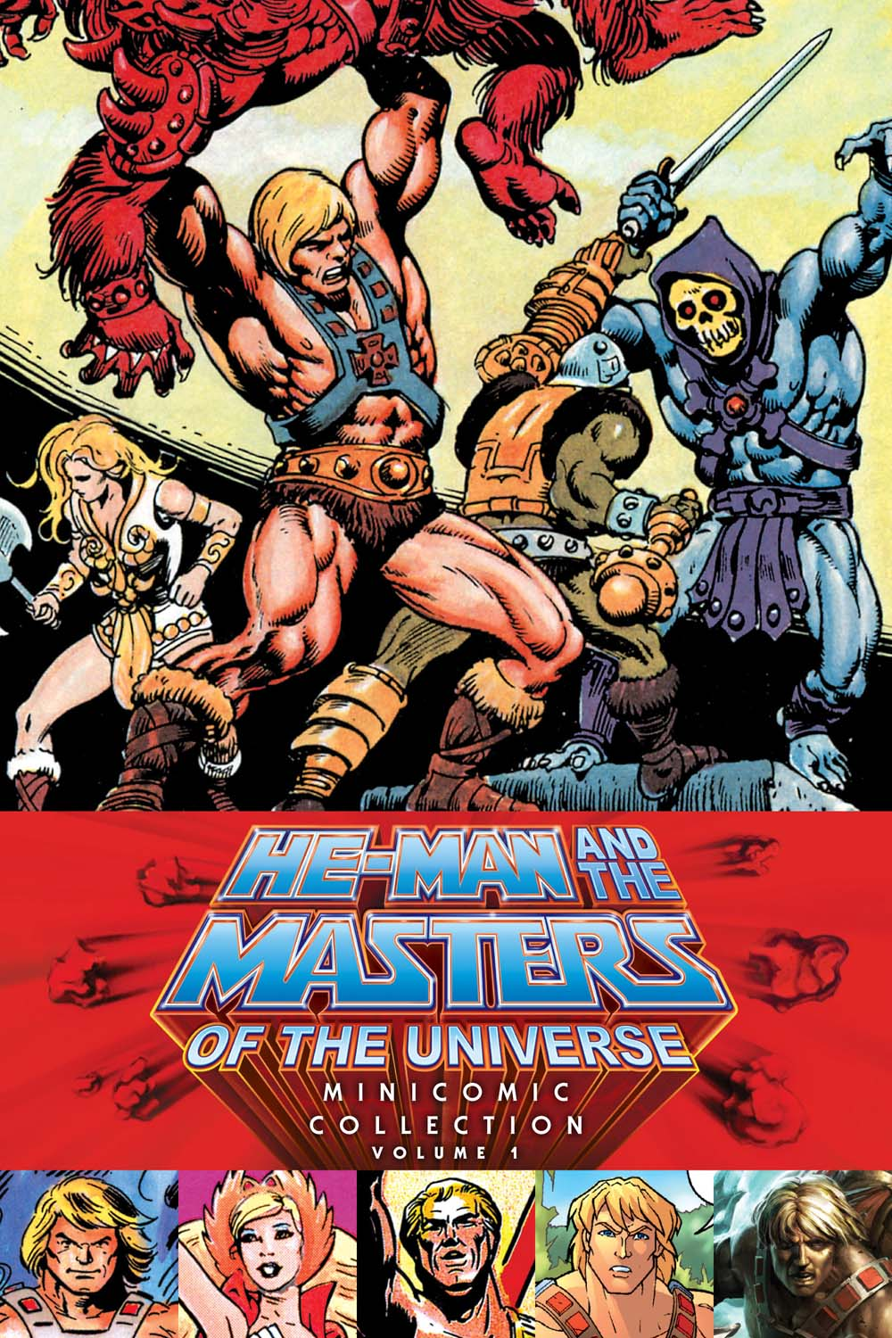HE-MAN AND THE MASTERS OF THE UNIVERSE MINICOMIC COLLECTIO N.  1