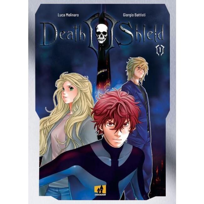 DEATH SHIELD N.   1 - NUOVA EDIZIONE - COVER VARIANT LAMINATA