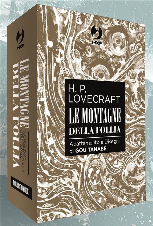 LE MONTAGNE DELLA FOLLIA - BOX 4 VOLUMI - LOVECRAFT