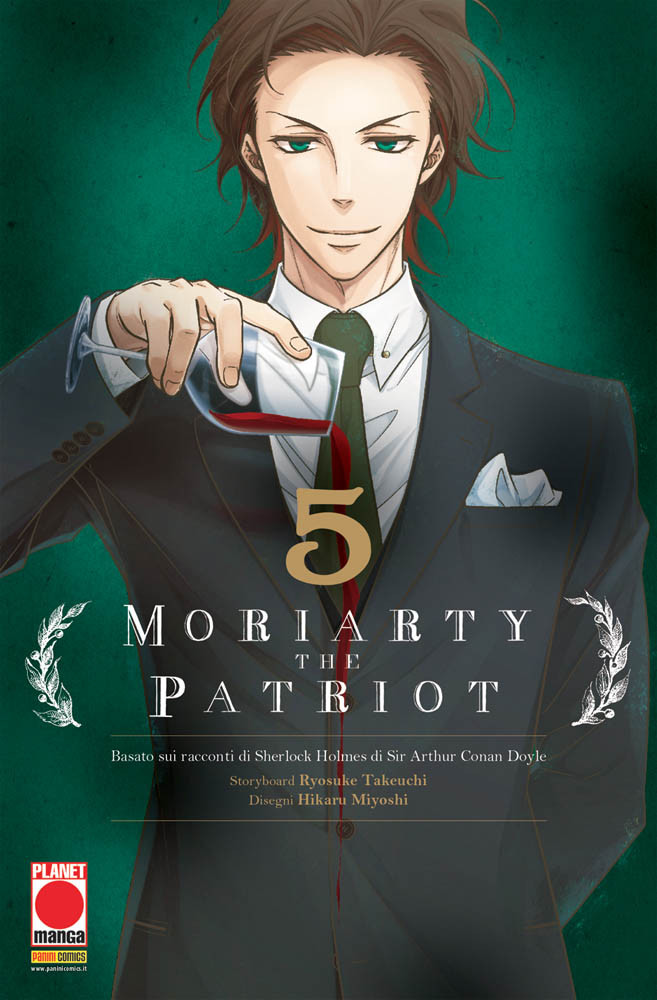 MORIARTY THE PATRIOT N.   5