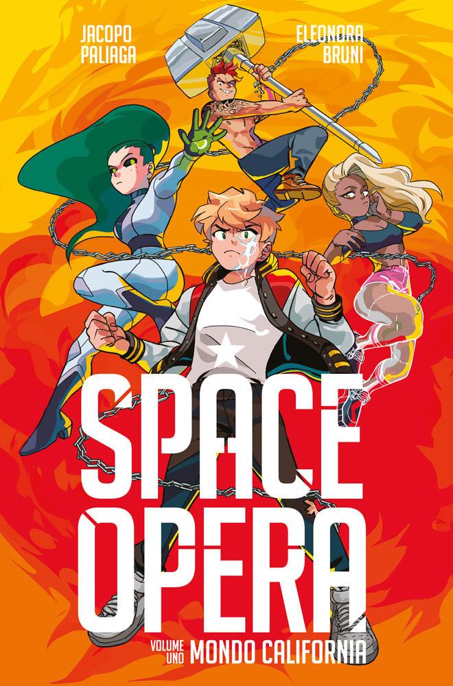 SPACE OPERA N.   1 - MONDO CALIFORNIA